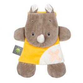 Nattou hračka mazlíček s termoforem Buddiezzz hroch
