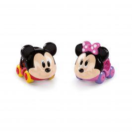 DISNEY BABY Hračka autíčka Mickey Mouse&Friends Go Grippers™ 2 ks, 12 m+