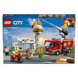 LEGO® City Fire 60214 Záchrana burgrárny