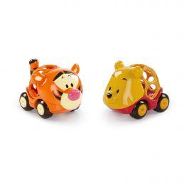 DISNEY BABY Hračka autíčka Winnie The Pooh&Friends Go Grippers™ 2 ks, 18 m+