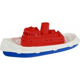 TEDDIES Loď/Člun rybářská kutr plast 26 cm