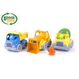 Wiky Green Toys Stavební stroje set