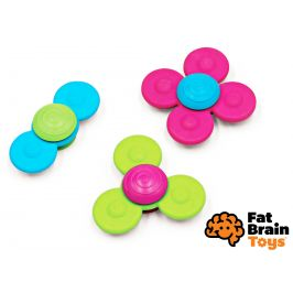 FAT BRAIN spinnery WhirlySquigz