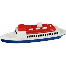 TEDDIES Loď/Člun - Parník oceánský plast 26 cm