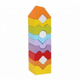CUBIKA Věž XI - dřevěná skládačka 12 dílů