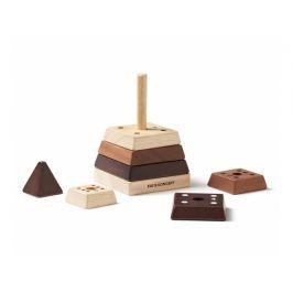 KIDS CONCEPT Pyramida dřevěná Neo